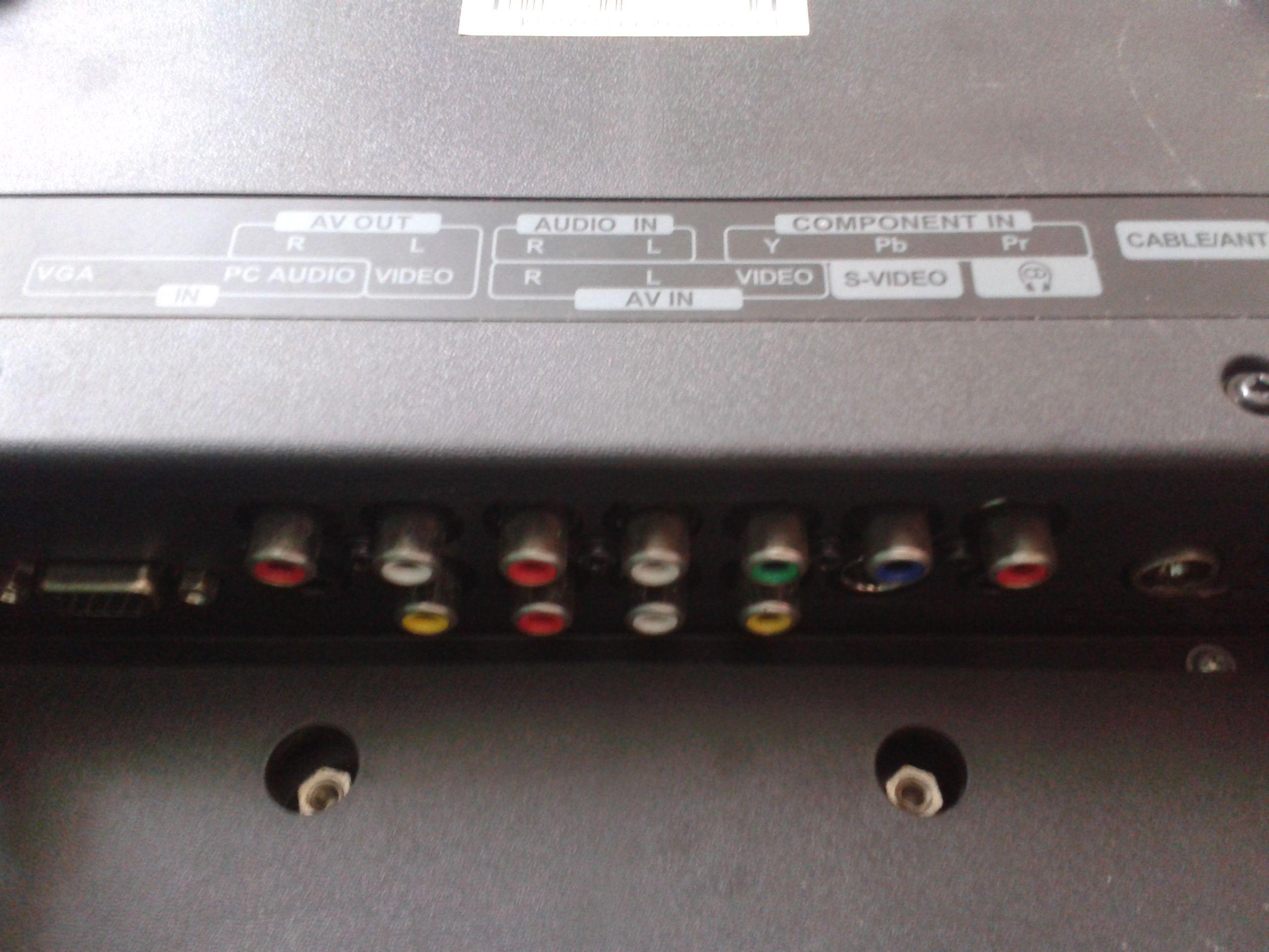 康佳lc26hs81b后面很多插孔 与机顶盒改怎么连接高清图片