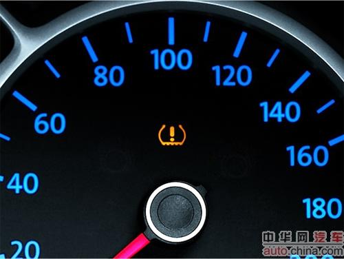 大众汽车车胎漏气会显示什么标示图片