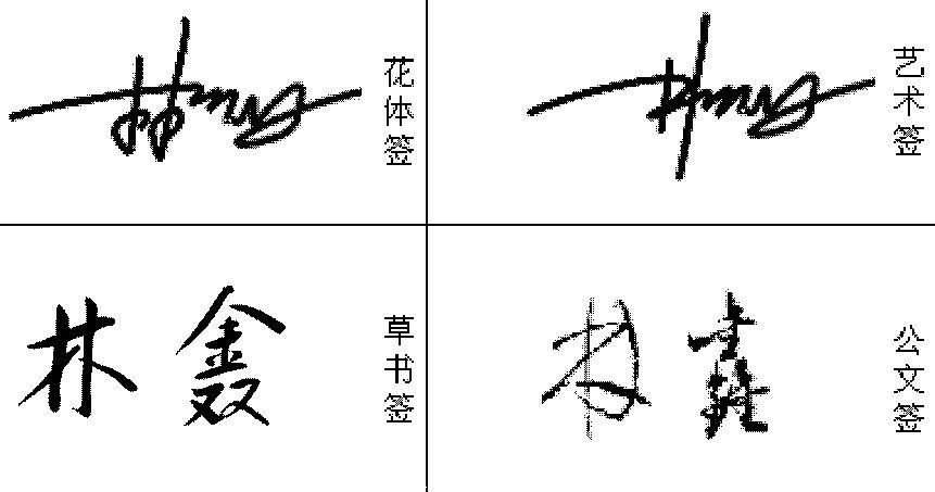么写啊,也就是顺序连笔字,笔画 2015-08-20 --林字艺术签名图片