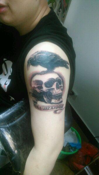 汉中哪里纹身店技术比较好?想纹一个敢死队的标志 ...