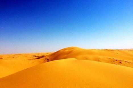 副热带高压沙漠