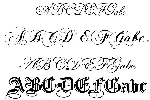 英文艺术字体在线转换-英文艺术字体在线设计/英文字体转换器在线图片