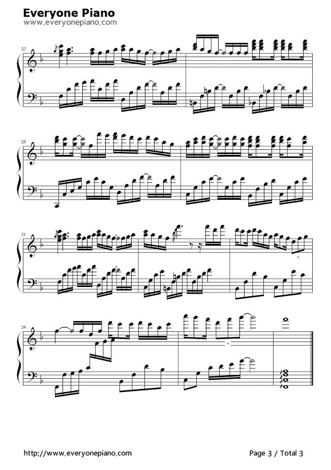 使用的那首钢琴曲叫什么?图片