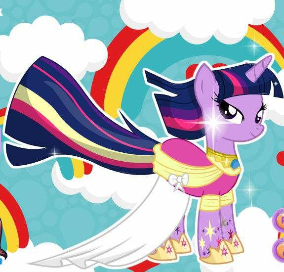 《彩虹小马》这部动画片什么内容?