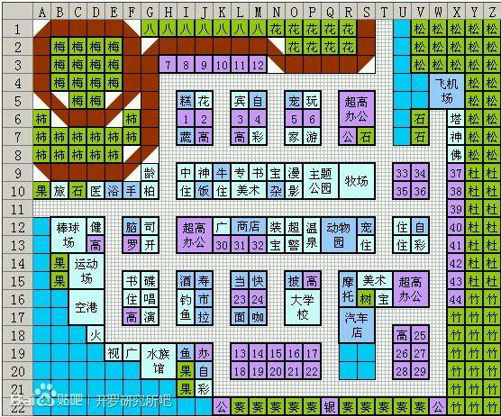 开罗游轮五层完美布局_开罗游戏布局图片开罗百货商店布局图 开罗太空庄园布局图1; 财阀都市
