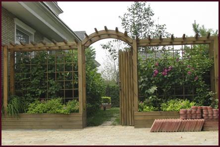 张爷爷家有一块三角形的花圃△abc,张爷爷准备将其分成面积相等的四图片