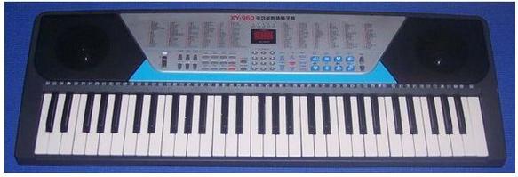 自学电子琴是先学五线谱还是电子琴的指法图片