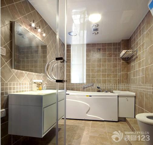 小型欧式瓷砖卫生间