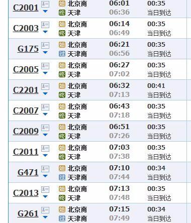 北京到天津怎么走最快