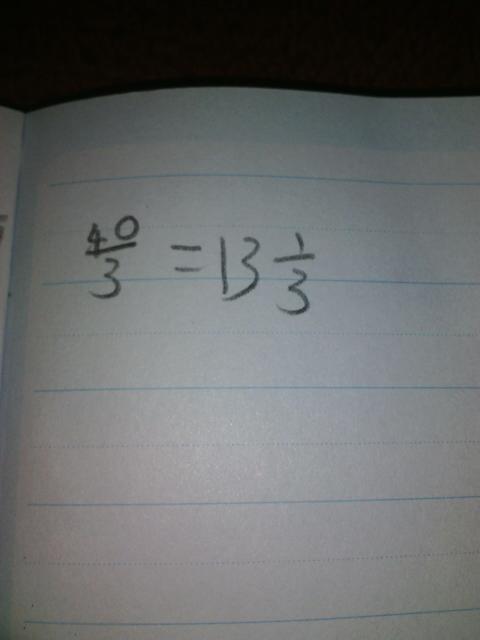 3分之4是带分数吗