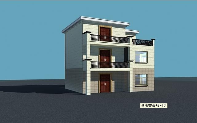 一层半楼房设计图3层半楼房设计图农村二层楼房设计 (640x401)-两