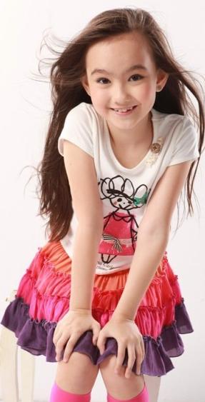 中国比较著名的童星 女生
