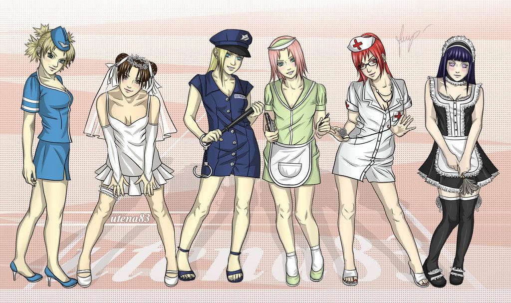 火影忍者里有哪些女生