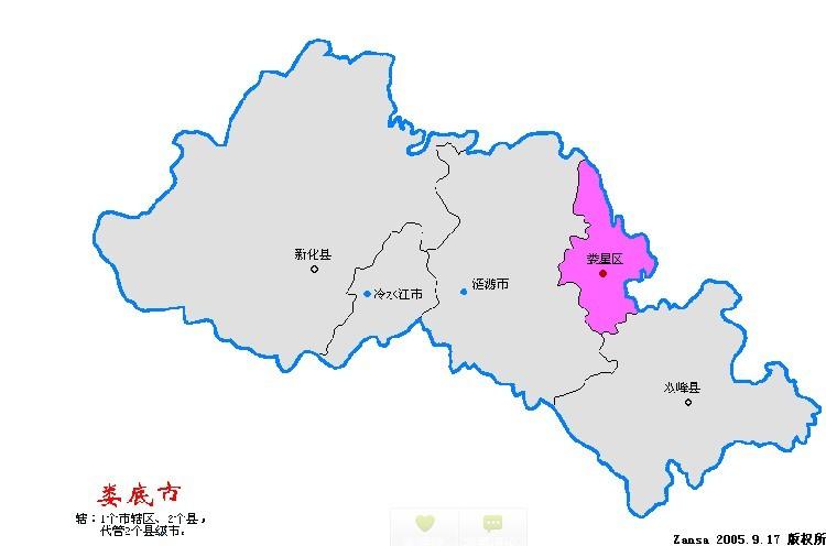 新化县属于什么市