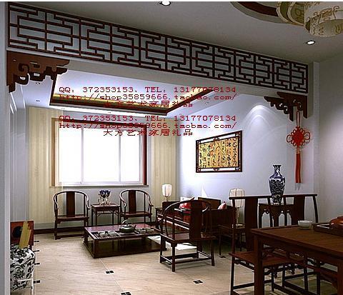 客厅和餐厅有一个横梁,下图所示,高40公分该怎么设计