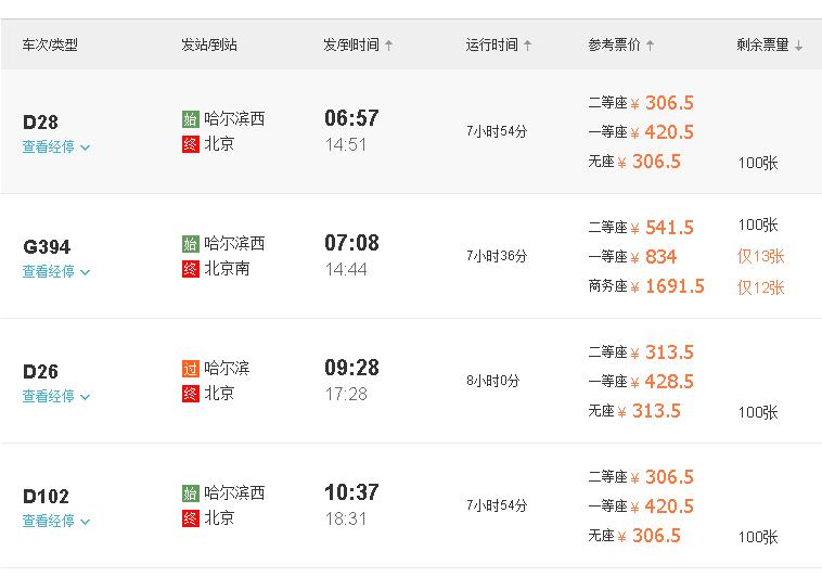 去哪网北京到五台山