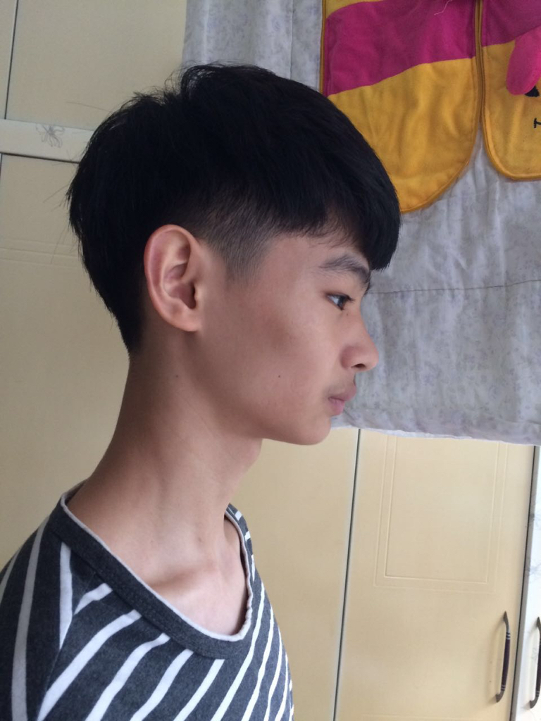 求设计发型 脸型小 男瘟图片