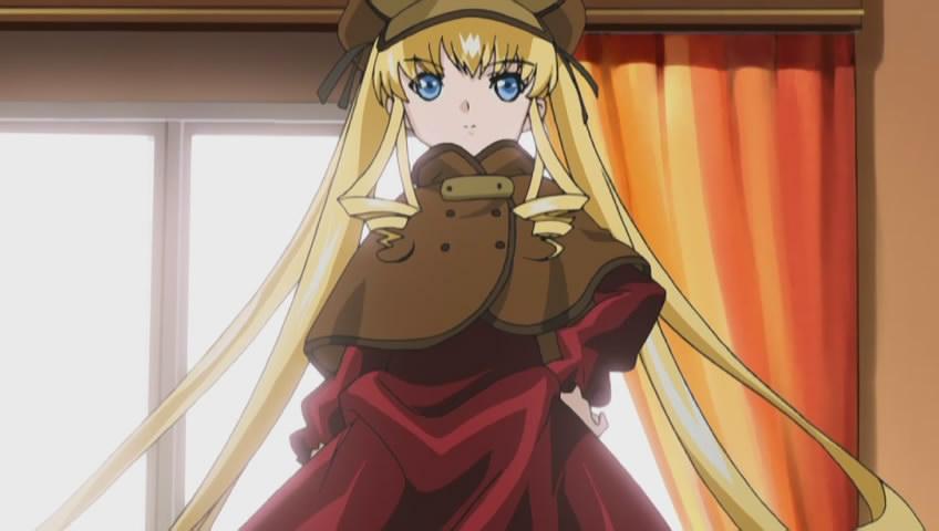 蔷薇少女扮侦探的图片!