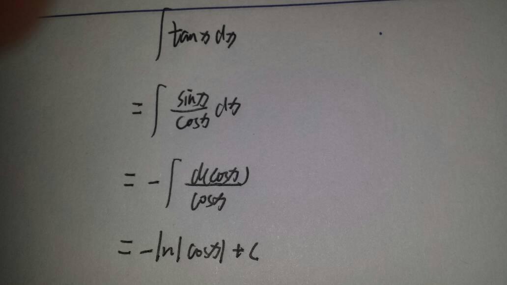 tanx/cosx^2求积分
