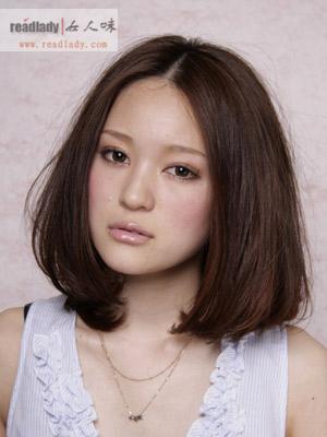 女生国字脸型适合什么样的发型?图片