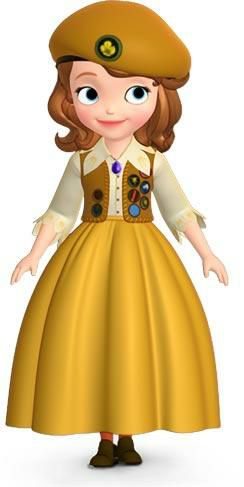 小公主苏菲亚的妈妈是谁?图片