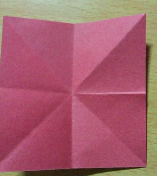 百合花的叶子折法