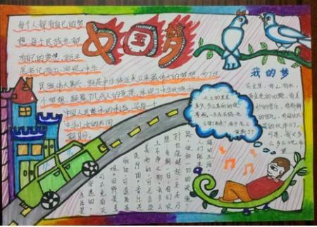 中国梦,手抄报,我要图片,谢谢图片