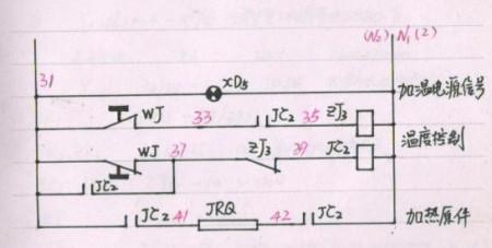 电接点温度计,电磁阀,接触器接线图图片
