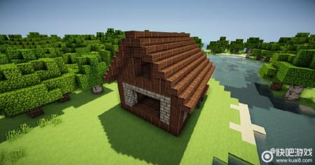 网上那个我的世界欧式小屋建筑的材质包是什么材质包图片