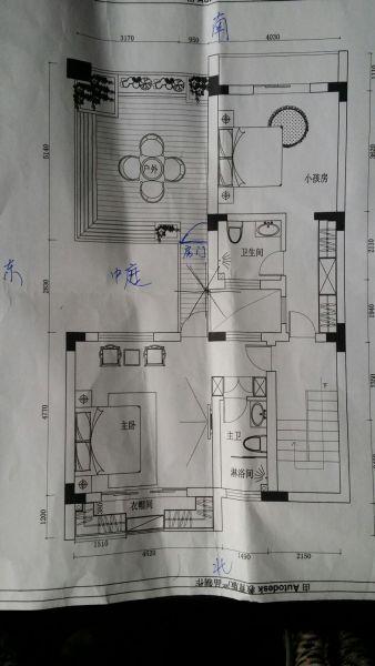 将露台改建成长女的卧房生辰为农历2012年11月28日午时,坐南朝北,改建图片