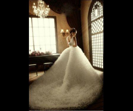 这件婚纱叫什么名字?图片