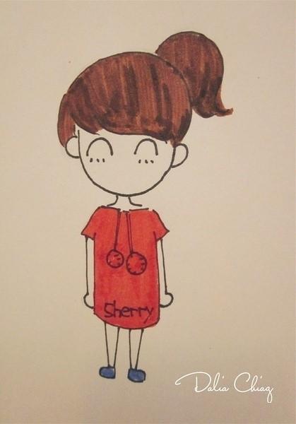 可爱小人简笔画