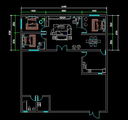 建筑平面图_房屋建筑学知识; 北方一层民房效果图; > 建筑平面图图片