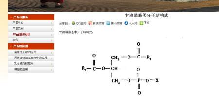 甘油磷脂结构式怎么写图片