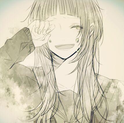 动漫女生哭泣头像