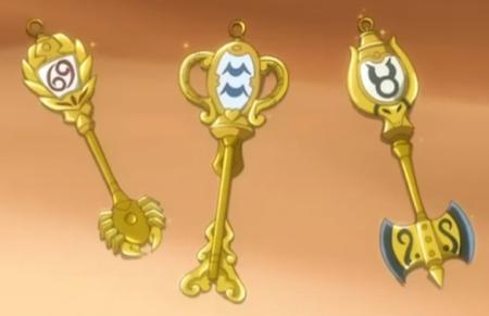 妖的尾12宫星灵的钥匙图