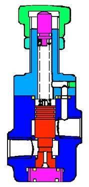 简述直动式溢流阀的工作原理图片