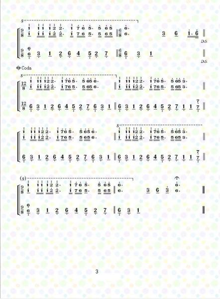 钢琴曲《梦中的婚礼》简谱和五线谱图片
