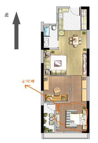 长方形的房子 风水图片