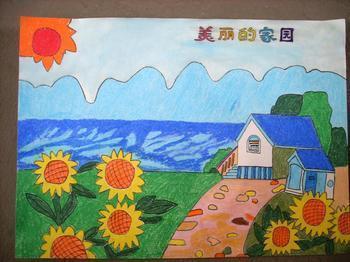 最美中国 的儿童画 速度要啊啊啊! 要图片图片