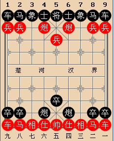 下面这个中国象棋残局的解法是什么?图片