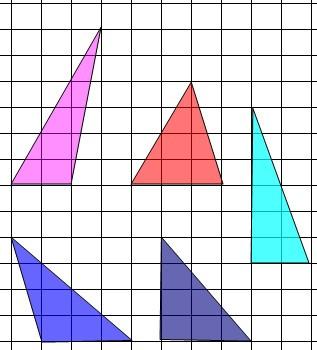 在正方形网格中画一个面积为6的钝角三角形图片