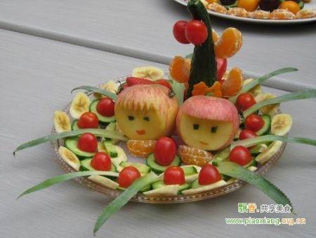 花式水果拼盘不仅造型美观,而且能够大大提高您用餐的档次,为您图片