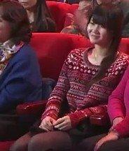 跪求2014年春晚现场观众席上一红衣美女资料啊!