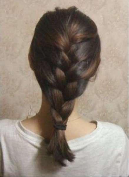 怎样扎头发简单好看图解图片