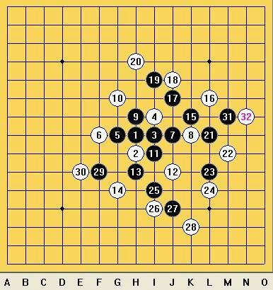 2011-10-31 五子棋阵法图片