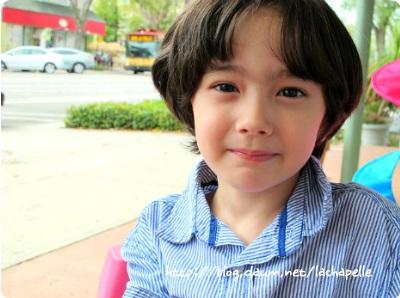 这张图片是韩国童星danny吗
