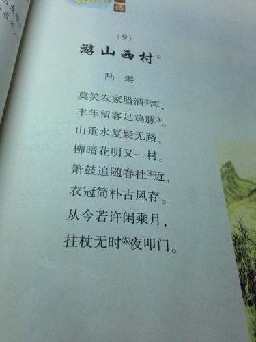 这首古诗的译文图片
