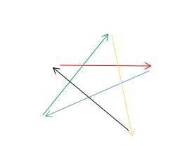 五角星最间单的画法 图解图片