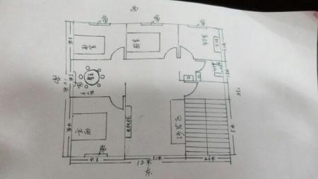 请问建房设计师,自建房120平米户型这样设计的怎么样?